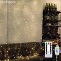 Led Fairy Шторы светильник струны Рождественские Гирлянды Гирлянда светодиодный светильник s висячий декор для свадьбы Новый Год Вечерние дома...