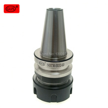 GUS Imported keyway shank nbt30-er milling cutter high speed nc dynamic balance precision head