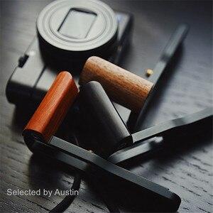 Image 1 - Holz Hand Grip Bracket Basis L Platte Für SONY RX100 VII RX100 M7 M6 RX DSC RX100