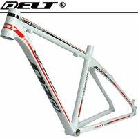 MTB 산악 자전거 자전거 프레임 26*17 인치 AL6069 화이트 레드 액세서리