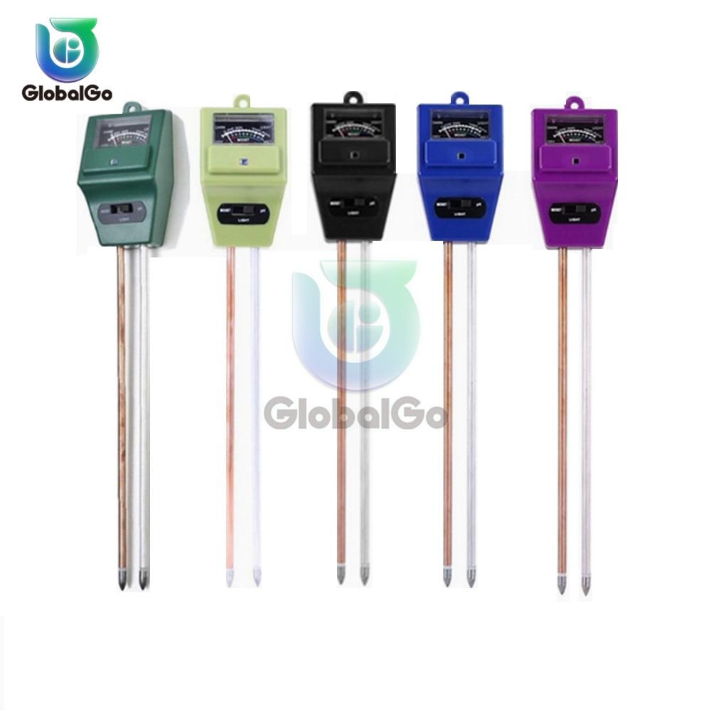 Цифровой тестер 3 в1 Почва Солнечный свет РН метр тестер почвы Анализатор садового инструмента для измерения кислотности растений Прибор для измерения влажности растений цветов|Измерители pH|   | АлиЭкспресс