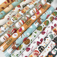50sheet New Christmas Wrapping Paper Craft 80g Coated Gift Paper 51*75cm DIY Gift Packaging Scrapbook Paper Cardstock