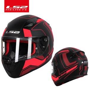 Image 2 - LS2 Global Store LS2 FF353 full face motorcycle helmet ABS safe structure casque moto capacete ls2 RAPID street racing helmets