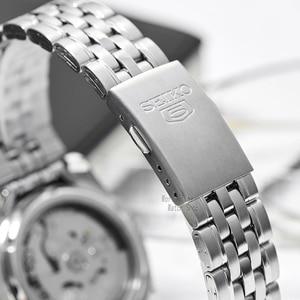 Image 4 - セイコー腕時計メンズ 5 自動時計を高級ブランド防水スポーツメンズ腕時計セットメンズ腕時計防水時計レロジオmasculino