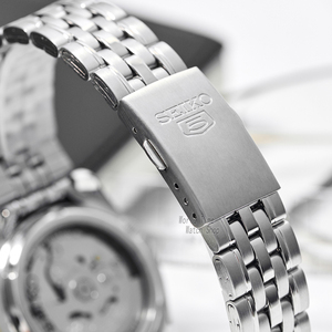 Image 4 - Seiko Reloj Automático para hombre, cronógrafo deportivo, resistente al agua, masculino