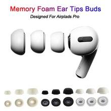1 paio 3 colori Memory Foam auricolari auricolari di ricambio manicotti auricolari copri tappi per le orecchie tappo per Airpods Pro auricolare accessorio