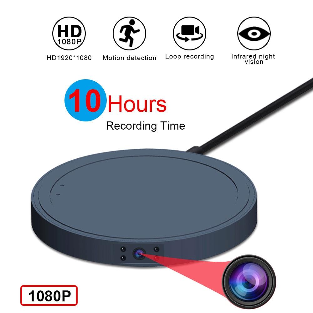 MD19B Mini Camera 1080P HD  Video Sensor Night Vision Camcorder Motion DVR Micro Camera Sport DV Small Cam No Wireless Charger