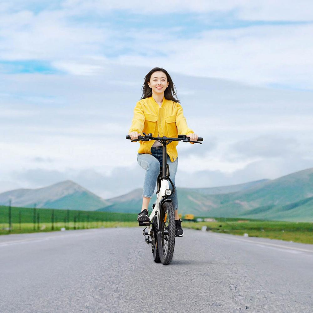 HIMO C20 Electric bicycle City electric bike 25km/h lithium battery 250w rear wheel motor ebike