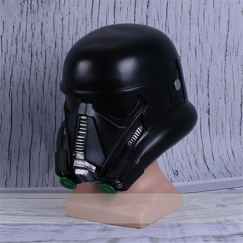 Especialista Cosplay Máscara Capacete Preto O Storm