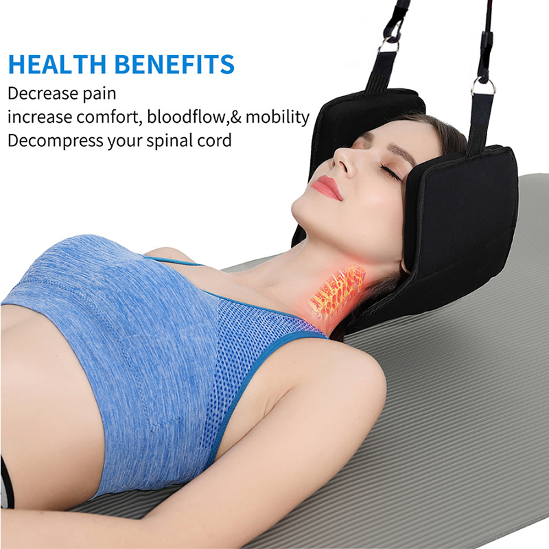 2019 Neck Massager Support Hammock Cervical Traction Device On Door Cervical Pain Relief Neck Stretch Health Care Masajeador-in Massage & Relaxation from Beauty & Health