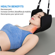 2019 Neck Massager Support Hammock Cervical Traction Device On Door Pain Relief Stretch Health Care Masajeador