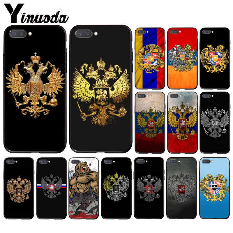 Yinuoda Armenia Albania Russia Flag Emblem    Phone Case For Huawei Honor 8X 9 10 20 Lite 7A 5A 7C 10i 20i View20