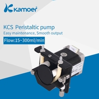 Kamoer KCS small peristaltic pump with stepper motor mini electric water pump 24V with high precision liquid pump