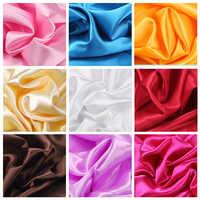100cm * 150cm 16 Farben Satin stoff Seide und satin Stoff Satin Farbe Butyl Seide Geschenk Box Futter lieb 100% Rayon Shiny diySewing