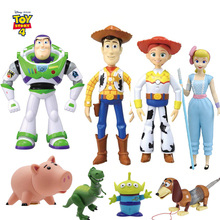 Hasbro Toy Story 4 model collection hand-made toys Woody and Buzz Lightyear Lotso7 personalities give children birthday gift