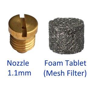 Mesh Filter/ Foam Tablet & Nozzle for Snow Foam Lance/ Foam Cannon/ High Pressure Soap Foamer(China)