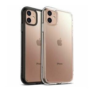 Image 5 - Ringke Fusion kılıfı iPhone 11 temizle PC arka ve yumuşak TPU çerçeve hibrid askeri bırak test için yeni iPhone kılıf