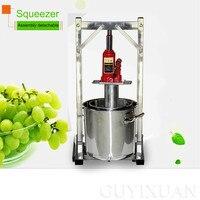 Commercial Fruit crusher Household Juice residue separation Juicer Grape juicer Stainless steel filter press