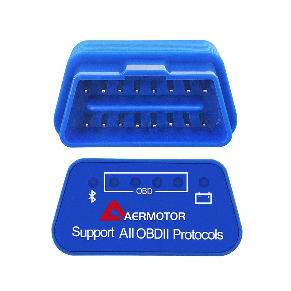 H2bfb83986bef4223a8e92da1258c153bh 2019 OBD2 ELM327 1.5 HH OBD Diagnostic Scanner ELM 327 V1.5 WiFi/Bluetooth OBDII Auto Code Reader Support OBD2 OBD 2 Protocols
