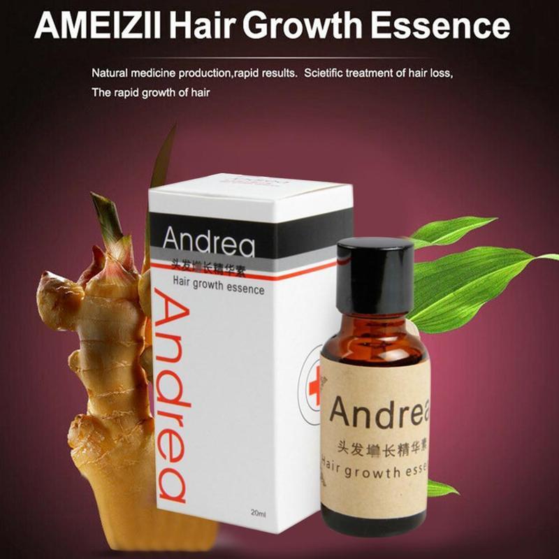 Herbal Keratin Andrea Fast Hair Growth Alopecia Loss Liquid Ginger Sunburst  Pilatory Oil