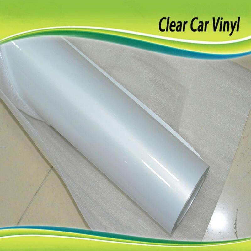 1.52x8m TPH Transparent Film d'enveloppe de voiture peinture de carrosserie Film protecteur imperméable anti-rayures auto-adhésif PPF feuilles de voiture