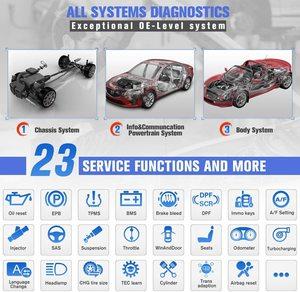 Image 4 - Autel OBD2 Auto Strumento di Diagnostica Maxisys MS906BT Senza Fili di Bluetooth Scanner Chiave di Codifica Immobilizzatore One Stop Multitasking Progettato
