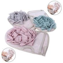 Bath Body Shower Gloves Skin Exfoliating SPA Massage Mitt La