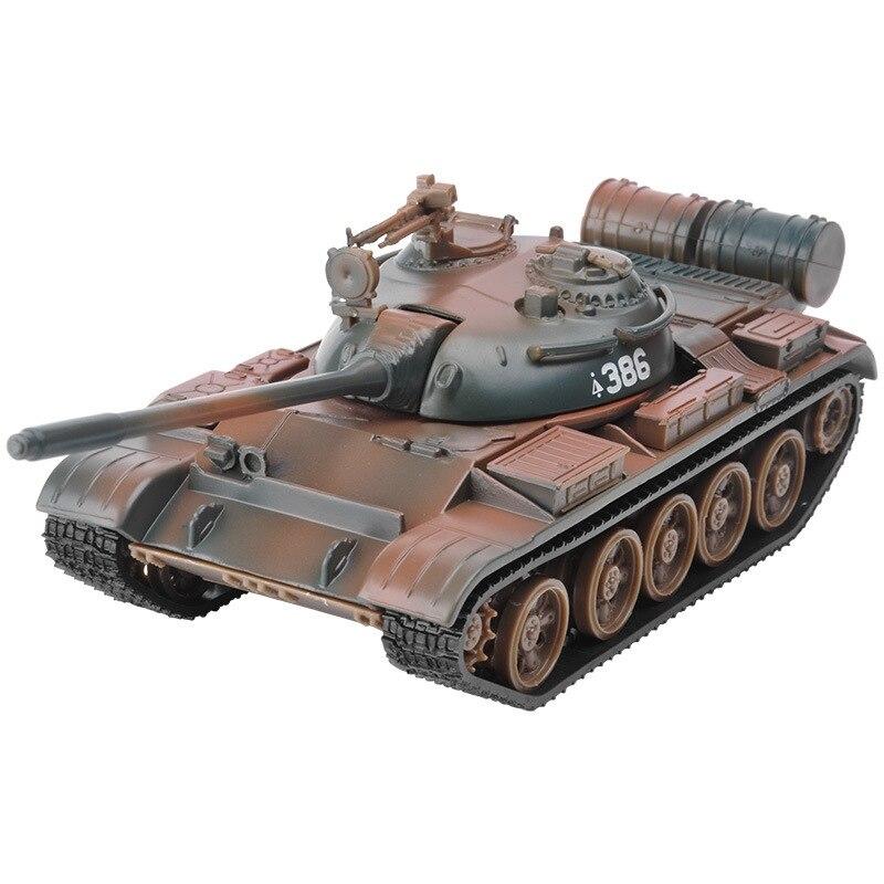 FBIL-Model,1:32 Alloy Model T55 MBT Tank,Metal Tanks,Diecast Cars,Good Gift