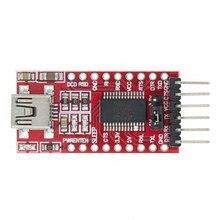 1 pces ft232rl ft232 usb para ttl 5v 3.3v cabo de download para serial adaptador módulo para usb a 232