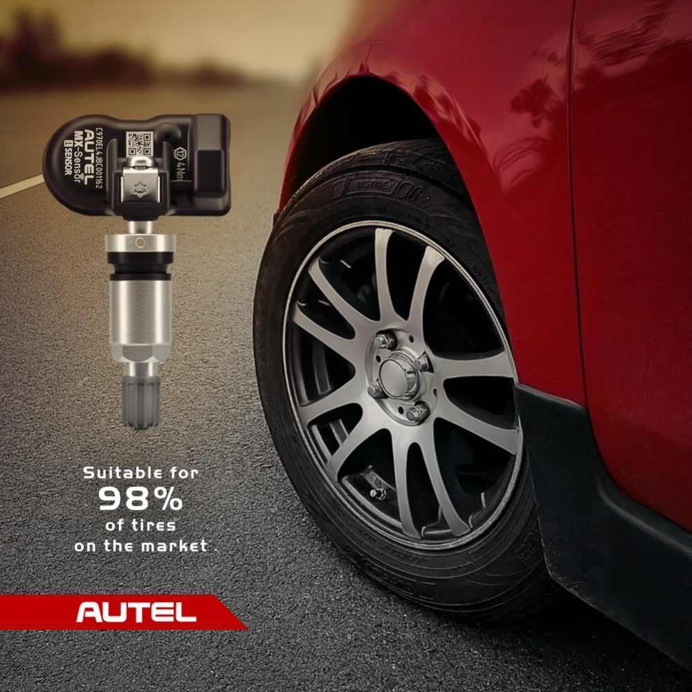 Autel mx センサー 433 315 tpms mx センサースキャンタイヤ修理ツール自動車用アクセサリータイヤ圧力モニター maxitpms パッドプログラマ