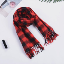 2019 Autumn Winter Unisex Cashere Men Scarf Foulard Plaid Male Scarves