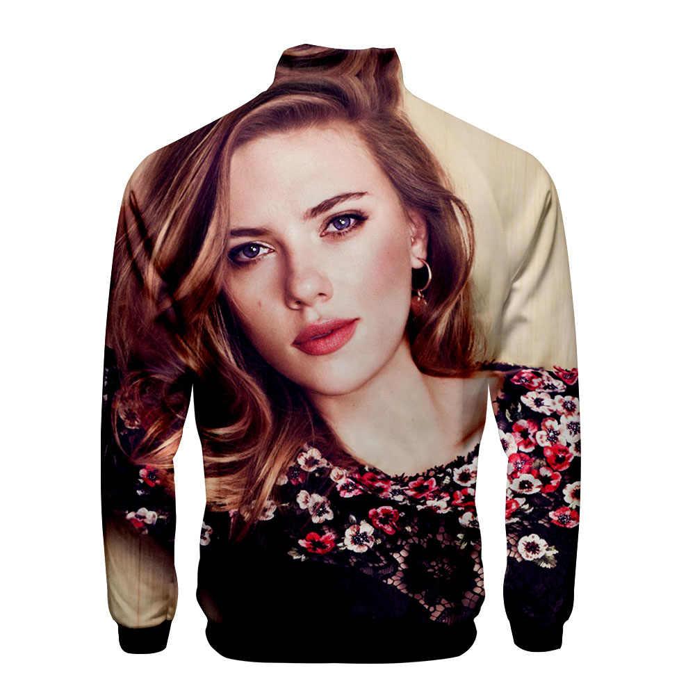 Männer hoodies Scarlett Johansson 3D druck ahegao hoodie fremden dinge ajax 2019 2020 regelmäßige sweatshirts