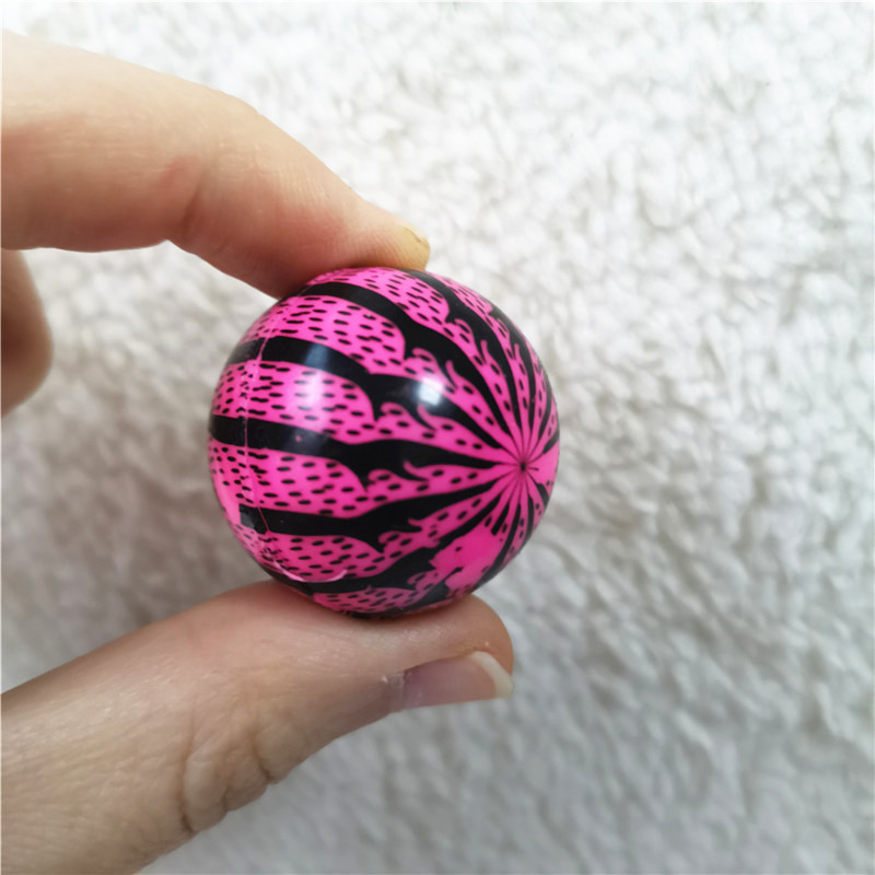 10pcs/lot 3cm Colorful Watermelon Rubber Bouncing Balls Bouncy Pinball Juggling Jumping Outdoor Sports Toys For Kids Children