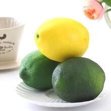 DCM – fruits artificiels en mousse de citron, fruits bon marché pour la décoration de la maison, Simulation d'ornement Orange, accessoires de photographie artisanale