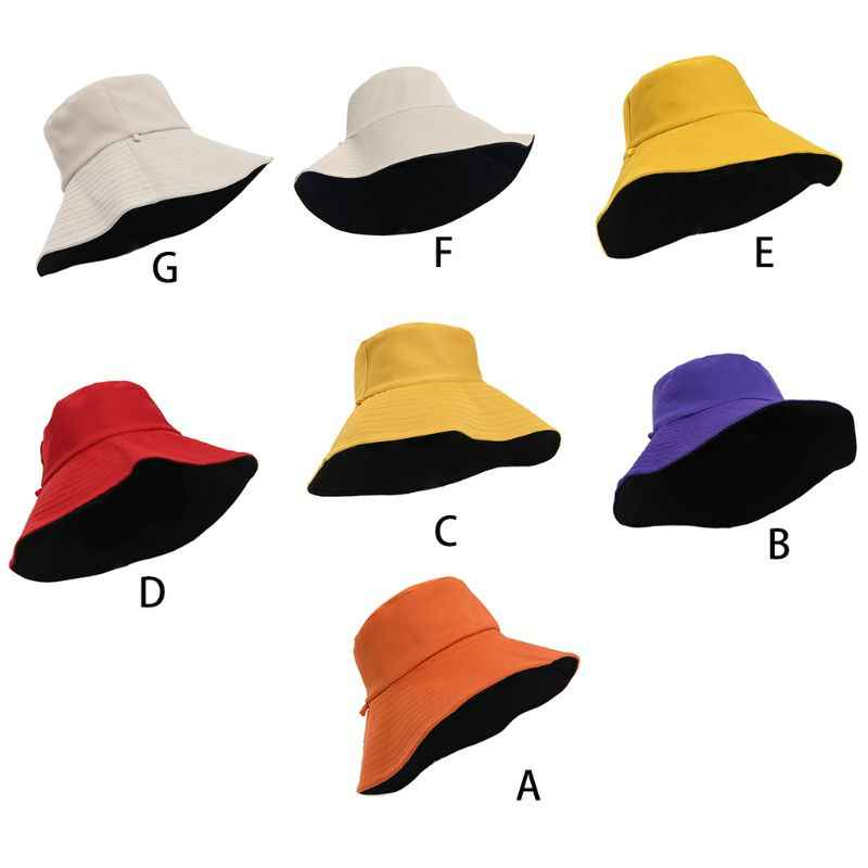 Sombreros De Hombre Brands Sombreros Sombreros De Pescador De Doble Cara Sombreros De Sol Sombreros De Sol para Mujer Sombreros De Verano Sombreros De Pescador