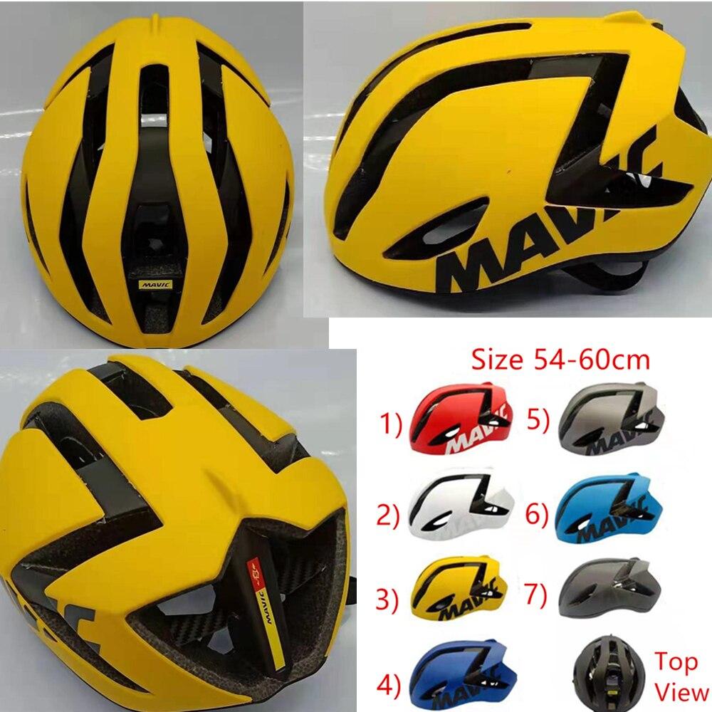 2020 велосипедный шлем MAVIC Road Comete Ultimate шлем для женщин и мужчин MTB Горный Дорожный шлем Размеры M 54-60 см 260 г
