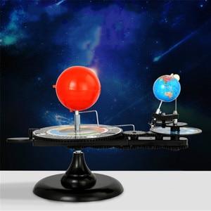 Sun-moon-earth Model Instrument Earth Moving The Sun Demonstration Earth Sun Moon Lunar Eclipse Principle Teaching