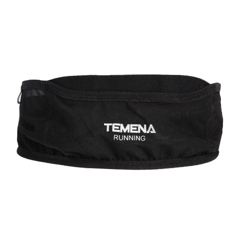 TEMENA Running Waist Bag Sports Fanny Bag Unisex Running Belt Invisible Fanny Waist Pack Mobile Phone Holder Marathon Bag