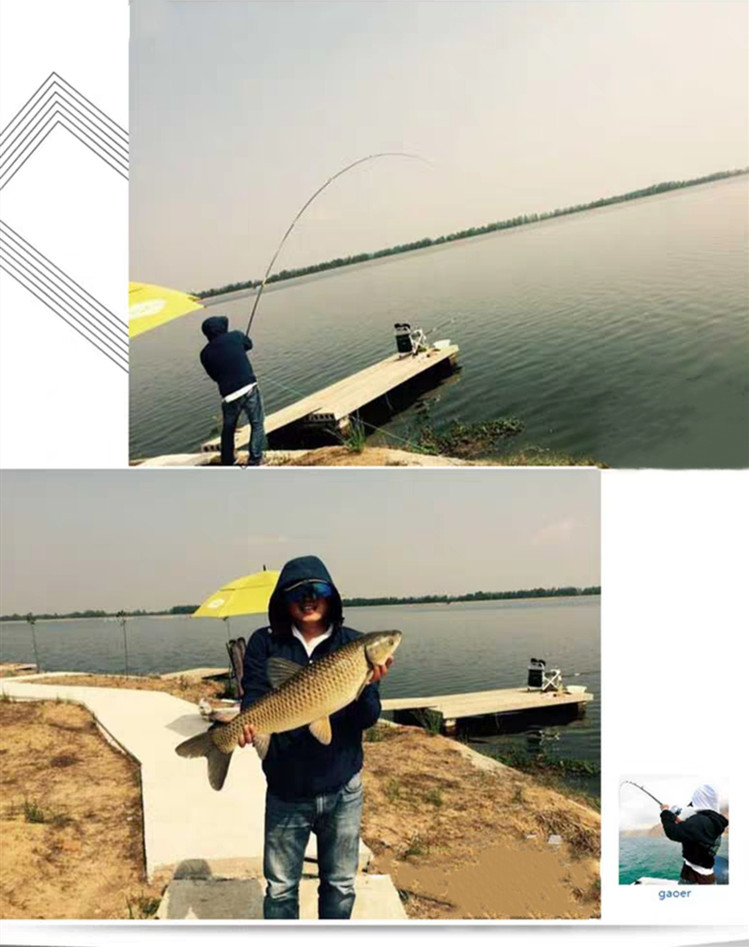 Telescopic Fishing Rod with High Quality Carbon Fiber Suitable Catching Large Fishes during Travel 12