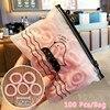 50/100/200 Pcs/Bag Children Cute Candy Cartoon Solid Elastic Hair Bands Girls Lovely Srunchies Rubber Bands Kid Hair Accessories 6