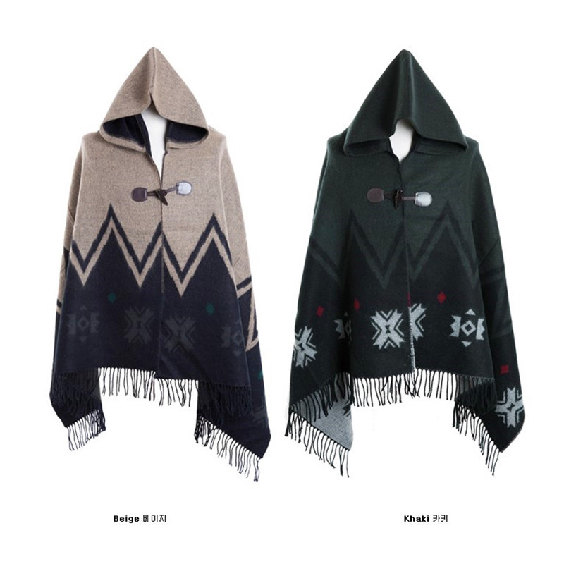 Trench Male Patchwork Color <font><b>Block</b></font> with A Hood Cloak Men's Clothing Cape Star Cloak Trench <font><b>Coat</b></font> Windbreaker Men Gothic Men 2020 image