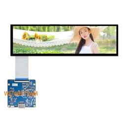 Wisecoco HSD088IPW1 A00 moduł LCD 8.8 cal IPS wyświetlacz Hdmi do Mipi płyta sterownicza 1920x480 samochodów rozciągnięty pręt ekran|Ekrany LCD do tel. komórkowych|   -