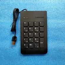 Новая Оригинальная Проводная Цифровая Клавиатура lenovo 4y40r38905