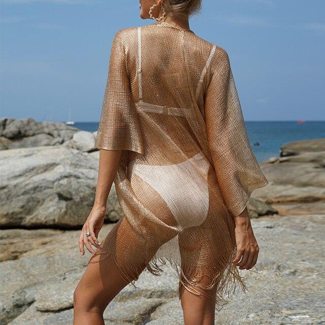 Tassel Bikini Cover Up