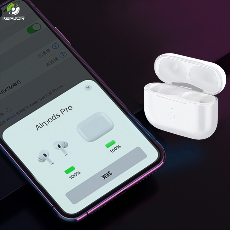 Charging Case For Airpods Pro With Pairing Pop Up Windows Qi