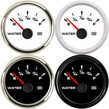 0 190ohm Water Level Gauge E F Car Water Tank Level Gauge Indicator for Auto Truck Marine Car Meter 240 33ohm 52MM Gauge