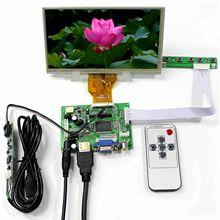 Latumab 7 дюймов ЖК-дисплей Дисплей 1024x600 цифровой Экран с сенсорным экраном Панель для Raspberry PI с/без VGA + HDMI совместимых с управляющая плата