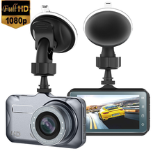цена на Car DVR Camera ADAS/LDWS Full HD 1080P IPS 3-inch Screen Display Dash Cam Video Recorder Wide-Angle Lens Parking Monitor