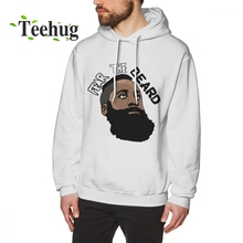 New Custom James Harden Fear The Beard  Hoodies Crazy Unique For Man sweartshirt Casual Nice Popular
