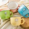 Бытовая Европейская простая керамическая чашка кофейная чашка Женская милая чашка молочный чай чашка кружка пара Питьевая чашка